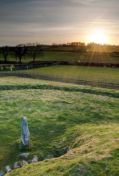Bryn Celli Ddu Ancient Burial Chamber - Anglesey, Wales