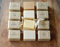 CHOOSE ANY 12 BARS OF HANDMADE SOAP    Stock up! A total of 12 wholesome made-from-scratch bars of all-natural olive oil herbal soaps, loaded
