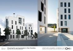 [Collective Housing Atlas] Housing for young people in Can Caralleu by Peris+Toral Arquitectes Loft, Young People, Willis Tower, Spain, Multi Story Building, Canning, Architecture, Atlas, House