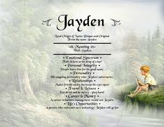 Jayden-name-meaning
