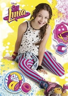 Sou Luna Disney, New Disney Channel Shows, Spanish Tv Shows, Dental Office Design, Son Luna, Fashion Tv, Chanel, Movie Characters, Party