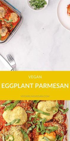Italian Dinner Recipes, Vegan Dinner Recipes, Delicious Vegan Recipes, Vegan Dinners, Whole Food Recipes, Veggie Main Dishes, Vegetarian Main Dishes, Vegetarian Food, Vegan Breakfast