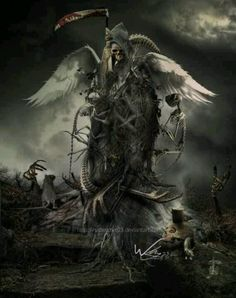 Grim Reaper angel