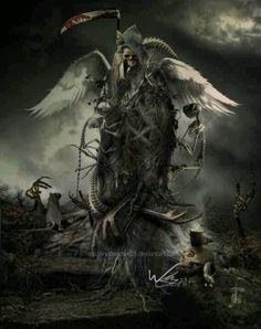 Grim Reaper angel