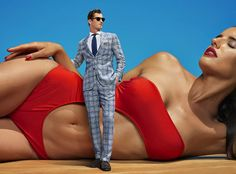 See the Suitsupply Spring/Summer 2016 Advertising Campaign at FashionBeans. See the full collection of images photographed by Carli Hermes for Suitsupply. Men's Fashion Brands, Mens Fashion Blog, Best Mens Fashion, Suit Supply, Male Models Poses, Summer Campaign, Suit And Tie, Gentleman Style, Well Dressed