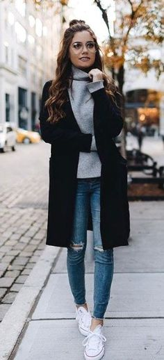 20 Casual Winter Outfits for Women 2020 - Yeahgotravel.com