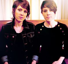 I can't decide which haircut I love more than the other!  Tegan and Sara