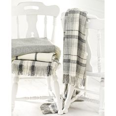Beautiful Merino and Shetland Wool Bronte throws. UK made www.maison-royale.co.uk