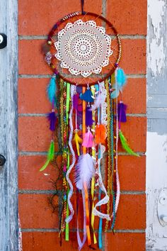 Dreamcatcher - Colorful Large on Etsy, $80.00