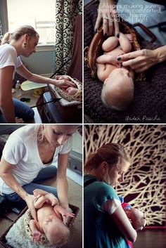 Has some great newborn photo shoot tips!