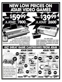 Atari Ad #atari #retroad #retrogaming