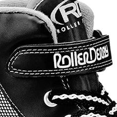 Amazon.com : Roller Derby 1378-02 Youth Boys Firestar Roller Skate, Size 2, Black/Gray : Sports & Outdoors Outdoor Roller Skates, Kids Roller Skates, Roller Derby Skates, Quad Skates, Thrasher Skate, Skate Boy, Complete Skateboards, Shoe Manufacturers, Childrens Shoes