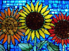 Image result for stained glass window recycled