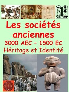 """French Immersion, Grade 4 Social StudiesIntegrate this resource in your social studies unit about """"Les socits anciennes 3000BCE-1500CE"""" with accurate information at the reading level of your French Immersion students!This resource is intended to develop the vocabulary and content about the Ancient Civilizations unit in French, support the understanding  and impact of ancient societies and provide  students with some activities they will enjoy completing.Learn in French the essential… Study French, French Resources, French Immersion, Reading Levels, Ancient Civilizations, Fourth Grade, Social Studies, Vocabulary, Literacy"""