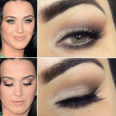 Tutorial inspirado em maquiagem nude de Katy Perry » Pausa para FeminicesPausa para Feminices
