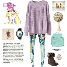 Alice by kitty3136 on Polyvore featuring Atmos&Here, Disney, Avenida Home and Buccellati