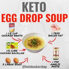 👈SWIPE 💡👨🍳Looking for easy Keto meal prep ideas? Check out these Keto recipes RP —————— 📝Keto Recipes include:… Keto Foods, Keto Snacks, Cetogenic Diet, Low Carb Diet, Keto Fat, Keto Results, Comida Keto, Egg Drop Soup, Keto Soup