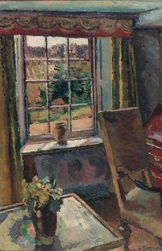◇ Artful Interiors ◇ paintings of beautiful rooms - Duncan Grant | The Garden Room, Charleston