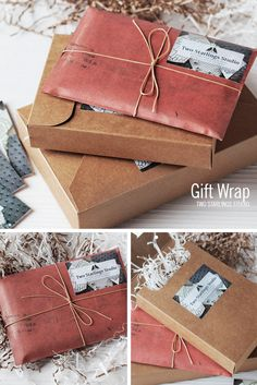 Gift wrap, Two Starlings Studio