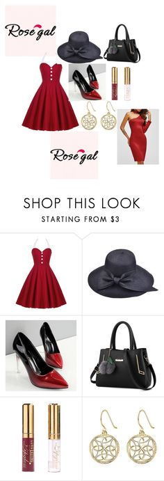 """""""NEW CONTEST! ROSEGAL new vintage dress 1- 2 winner will win $20 cash"""" by sabii-dlii ❤ liked on Polyvore featuring vintage"""