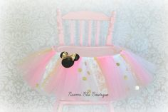 Inspired by Minnie Mouse High Chair Tutu in Pink and by NaomiBlu                                                                                                                                                                                 More