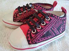 Polynesian Designed Baby Shoes O la'u pepe by IslandAlofa on Etsy, $25.00
