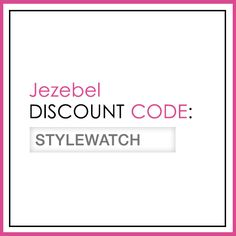 "From Nov. 13 to Jan. 8, enter ""STYLEWATCH"" at checkout for a 20% discount on full-price merchandise. #StyleHunters"