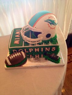3f55337c 26 Best Miami Dolphins Cake images in 2016 | Miami dolphins cake ...