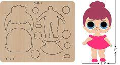 Le plus récent Pic lol fieltro Concepts Felt Diy, Felt Crafts, Diy And Crafts, Bow Template, Lol Dolls, Doll Patterns, Paper Piecing, Paper Flowers, Paper Art
