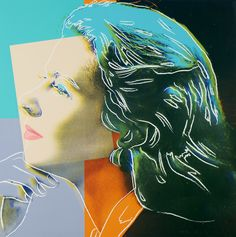 "Andy Warhol  US 1928-1987  ""Three portraits of Ingrid Bergman""."