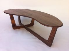 60 Kidney Bean Cocktail Table Mid Century by studio1212furniture Etsy