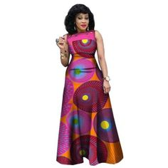 African Dresses For Women African Print Clothing Sleeveless Sexy Maxi Style from Diyanu - Ankara Dresses, Shirts & African Print Dress Designs, African Print Clothing, African Print Fashion, Africa Fashion, Short African Dresses, Latest African Fashion Dresses, African Print Dresses, Traditional African Clothing, Hippie Dresses