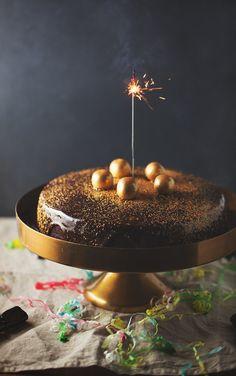 luksus chokoladekage med glasur 03