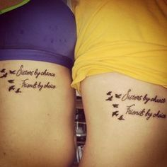 Sister Tattoos: 30 Sister Tattoo Ideas For You and Your Sis! - Part 9