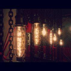 Светильники loft