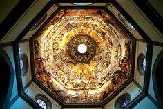 Duomo frescoes by Giorgio Vasari and Federico Zuccari (1572-1579), Florence