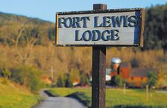 Welcome to Fort Lewis Lodge.
