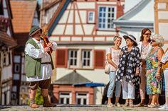 Reiseplaza: Genussurlaub - In Bad Wimpfen verbinden sich Kultur, Entspannung und Naturerlebnis (Foto: epr/Stadt Bad Wimpfen) Bad Wimpfen, City