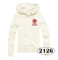 women sweater franklin marshall 2012白色套头拉绒卫衣修身秋装-淘宝网