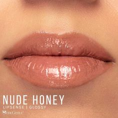 Nude Honey LipSense by SeneGence is a Limited Edition lipcolor described as a soft, sheer golden nude matte.  Part of the Nude Honey Collection, click thru to purchase yours now.  #nudehoney #senegence #lipsense