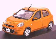 Jcollection 1/43 NISSAN March Sunlight Orange 京商 http://www.amazon.co.jp/dp/B00860TFUC/ref=cm_sw_r_pi_dp_M2AIub12WHZ5G
