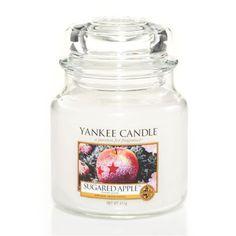 Yankee Candle - svíčka Sugared Apple střední | Svět bytových vůní
