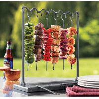 Skewer Station by Sur la Table - Brilliant idea for a BBQ. A little pricey but maybe worth the investment.