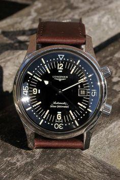 Longines legend diver vintage watch