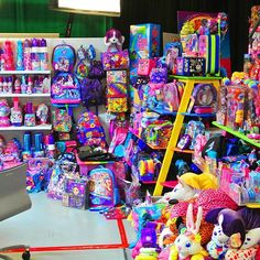 Here's a shot of Lisa Frank's office. (Via: @x90schick)