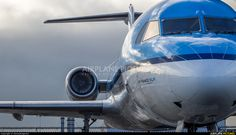 High quality photo of KLM Cityhopper Fokker 100 by DennyRingenier. Visit Airplane-Pictures.net for creative aviation photography.