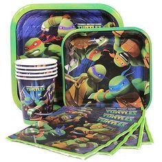 Teenage Mutant Ninja Turtles Birthday Party Supplies-Napkins Plates Cups