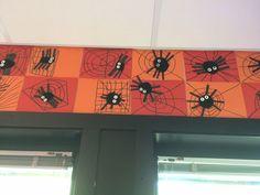 Kunst og håndverk: oppgave om bokstaven e for edderkopp.