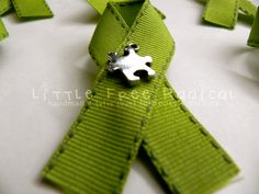 Mitochondria: The Missing Piece Awareness Pin for Mitochondrial Disease - Benefits Mitochondrial Disease research. $5.00, via Etsy.