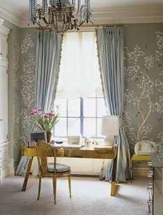 aerin lauder- elle decor--beautiful robin's egg blue